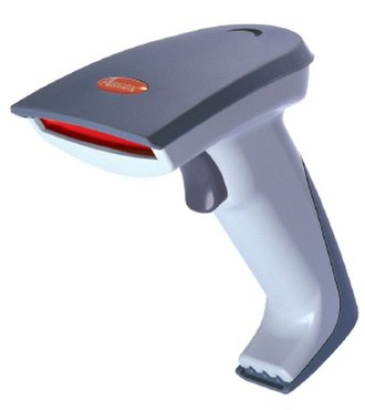 Barcode reader - A handheld barcode scanner