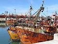 Barcos en el Puerto de Mar del Plata.JPG