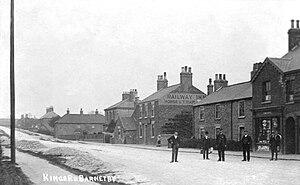 Barnetby - Historic photograph of Kings Road (circa. 1912)
