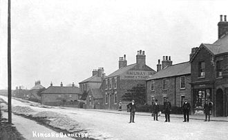 Barnetby - Historic photograph of Kings Road (circa. 1912)
