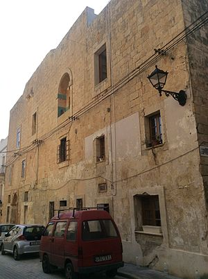 Ħamrun - A 17th-century palace near the Chapel of Our Lady of Atocia, said to be the oldest building in Ħamrun