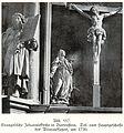 Bartenstein, Johanniskirche, Altaraufsatz, Teil vom Hauptgeschoss, um 1720, Bildhauer Joseph Anton Kraus (zugeschrieben).jpg