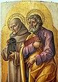 Bartolomeo vivarini, trittico, 05 bernardino e pietro 2.jpg
