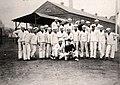 Base team at the Brooklyn Navy Yard, New York City, New York, 1900-1920 (25987283134).jpg