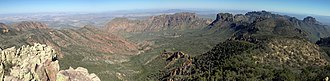 Emory Peak - Image: Basin from Emory Peak
