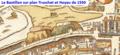Bastillon de la porte Saint-Antoine sur plan Truschet et Hoyau.png