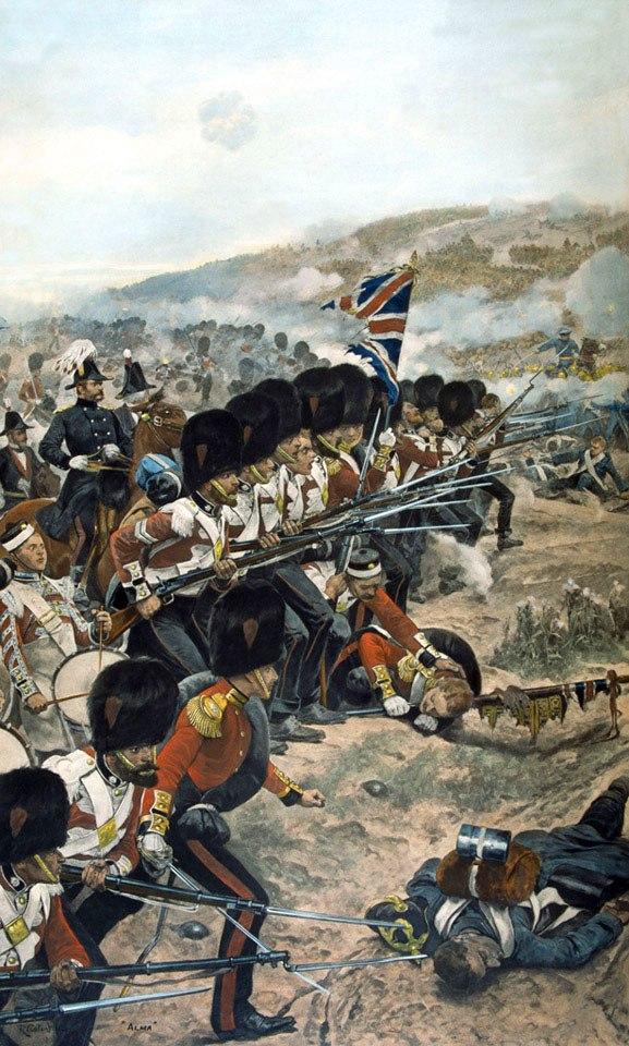 Batalla del río Almá, por Richard Caton Woodville