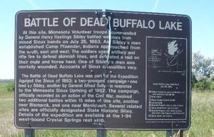 Battle of Dead Buffalo Lake - Image: Battle of Dead Buffalo Lake
