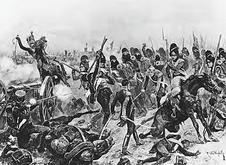 Battle of Salamanca - At the Battle of Salamanca, Sir Edward Pakenham's 3rd Division charges Thomieres