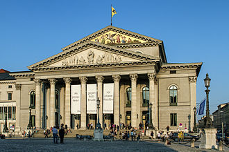 Bavarian State Opera - National Theatre Munich exterior