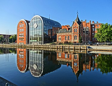 Bydgoszcz is the Voivodeship's largest city and the seat of its Governor (Voivode) Bdg NoweSpichrze 7 07-2013.jpg