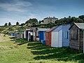 Beach huts at Hopeman. - panoramio.jpg