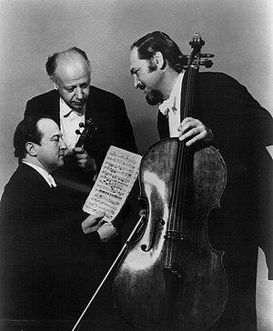 Beaux Arts Trio - Beaux Arts Trio in 1980