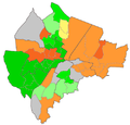 Belfast Wards Protestant percentage 2011.png
