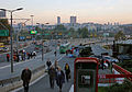 Belgrade. Road interchange at the Liberation Boulevard.jpg