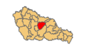 Belica municipality location.png