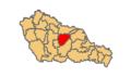 Belica municipality location.png