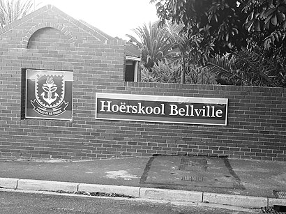 How to get to Bellville Hoër Skool with public transport- About the place
