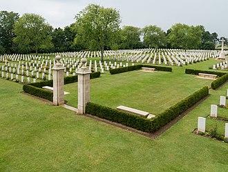 Canton of Bretteville-l'Orgueilleuse - Bény-sur-Mer Canadian War Cemetery