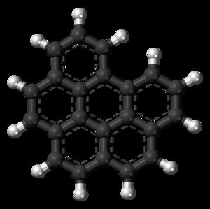 Benzo(ghi)perylene - Image: Benzo(ghi)perylene molecule ball
