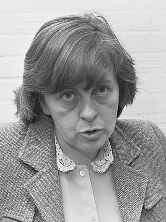 Bernadette Devlin McAliskey - Devlin in Amsterdam, September 1986