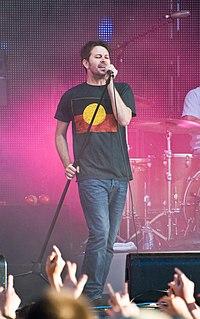 Bernard Fanning Australian musician and singer-songwriter