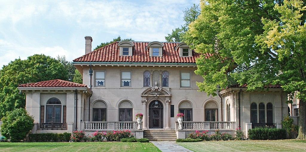 Berry Gordy House Boston Edison Detroit