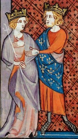 Bertrade de Montfort - Bertrade with Philip