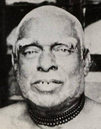 Bhaktisiddhanta Sarasvati - (left) Kedarnath Datta (1838–1914), the father of Bhaktisiddhanta Sarasvati, ca.1910  (right) Bhagavati Devi (−1920), the mother of Bhaktisiddhanta Sarasvati, ca.1910s