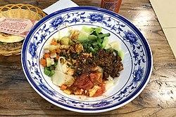 Biang Biang Noodles at Qintangyizhan, Tianzhu, Beijing (20200412133323).jpg