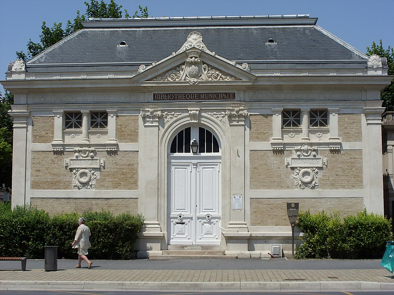 Holden public library in Rheims France