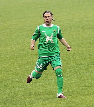 Bibras Natkho - Natkho playing for Rubin Kazan in 2010.