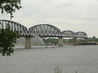 Old Jeffersonville Historic District - Big Four Bridge