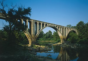 Jet Lowe - Image: Big Black River Railroad Bridge