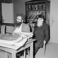Bijeenkomst in een jesjiva (Talmoedschool), Bestanddeelnr 255-3053.jpg