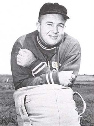 Bill Glassford - Glassford from 1951 Cornhusker