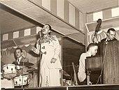 Billie at the Club Bali, Washington with Al Dunn (drums), and Bobby Tucker (piano)
