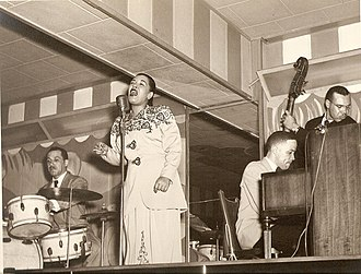 Billie Holiday - Holiday at the Club Bali, Washington, with Al Dunn (drums), and Bobby Tucker (piano)