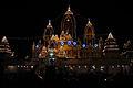 Birla Mandir, Delhi, views at night1.JPG