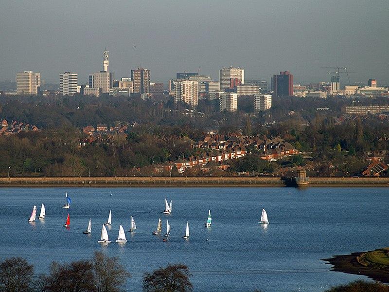 Birmingham Skyline from Bartley Green.jpg