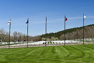 National Register of Historic Places listings in Meade County, South Dakota - Image: Black Hills National Cemetery