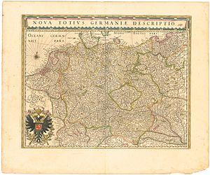 Maria Cunitz - Image: Blaeu 1645 Nova totius Germaniæ descriptio