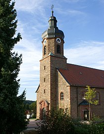 Blankenbach, die Ortskirche St. Kilian und St. Bonifatius.jpg