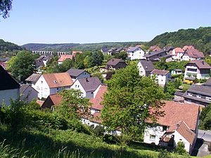 Altenbeken - View of Altenbeken
