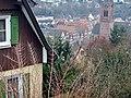 Blick auf Calw, u. a. auf die evangelische Stadtkirche Peter und Paul 1888 im neugotischen Stil wiederaufgebaut - panoramio (1).jpg