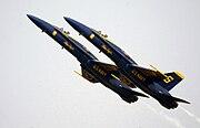 Blue Angels - Section High-Alpha Pass