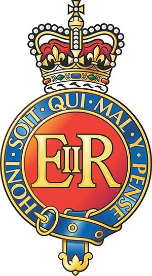 Household Cavalry - Image: Blues and Royals cap badge