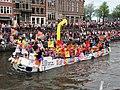 Boat 76 Roze Zaterdag 2018 - Gouda, Canal Parade Amsterdam 2017 foto 2.JPG