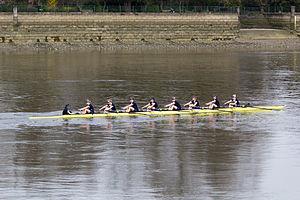 Women's Boat Race - The Newton Women's Boat Race 2015: Reserve Race – Osiris