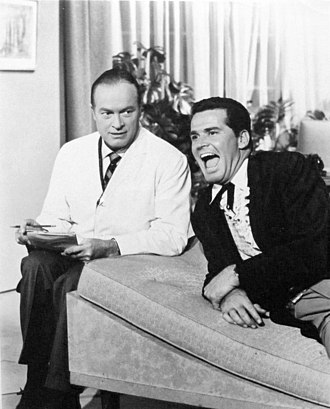 James Garner - With Bob Hope in a 1961 Hope TV special